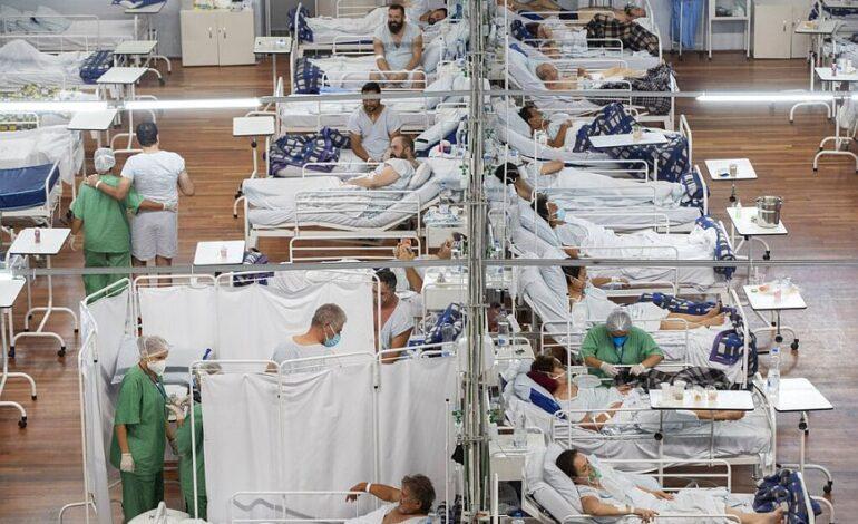 Βραζιλία: Άλλοι 874 θάνατοι και πάνω από 43.500 κρούσματα σε 24 ώρες
