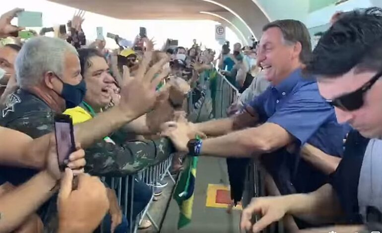 Βραζιλία: Πρόστιμο στον πρόεδρο Μπολσονάρου για μη τήρηση των μέτρων κατά του κορονοϊού