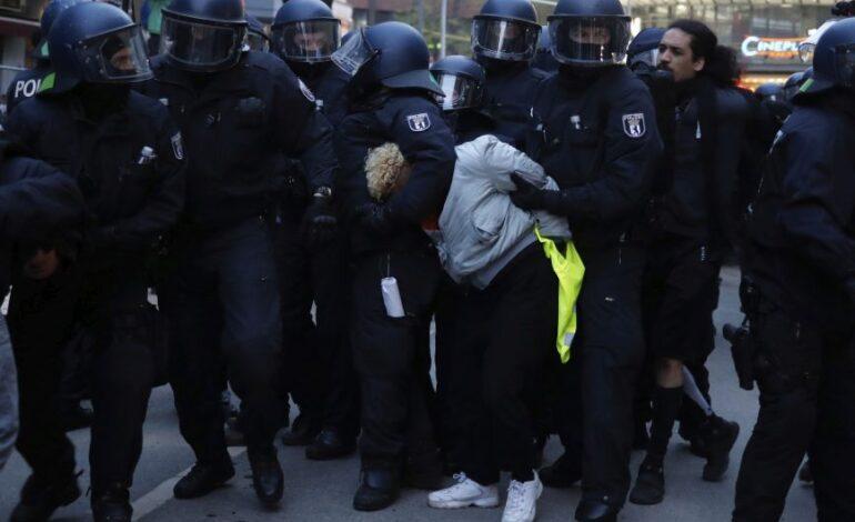Γερμανία: Περίπου 240 συλλήψεις στις συγκεντρώσεις για την Εργατική Πρωτομαγιά