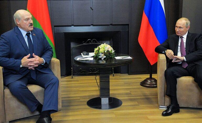 Δεύτερη ημέρα συνομιλιών Πούτιν – Λουκασένκο στη Ρωσία