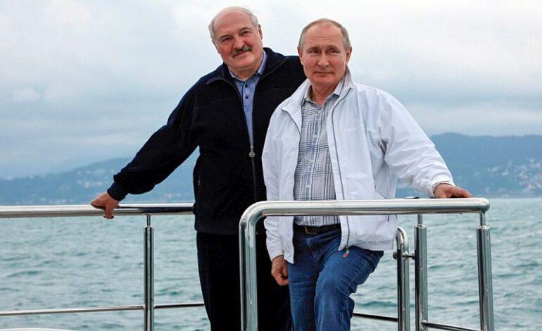 Διακοπές στο Σότσι: Βόλτα με το σκάφος για Πούτιν-Λουκασένκο