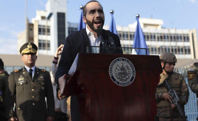 Ελ Σαλβαδόρ: Πρωτοβουλία από το κόμμα του προέδρου της χώρας για την παύση μελών του Ανώτατου Δικαστηρίου