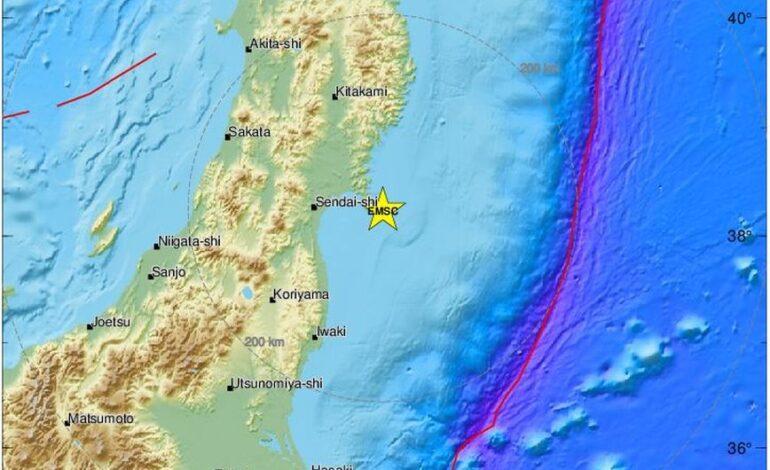 Ισχυρός σεισμός 6,8 Ρίχτερ στην Ιαπωνία