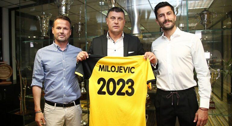 Και επίσημα εποχή Μιλόγεβιτς στην ΑΕΚ