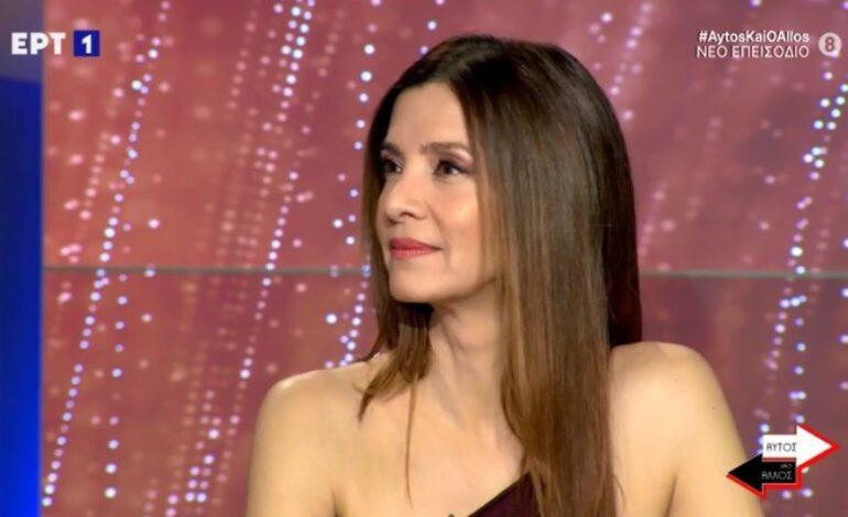 Κατερίνα Λέχου: Μίλησα στο πλαίσιο του #MeToo για να βοηθήσω αυτόν τον μηχανισμό