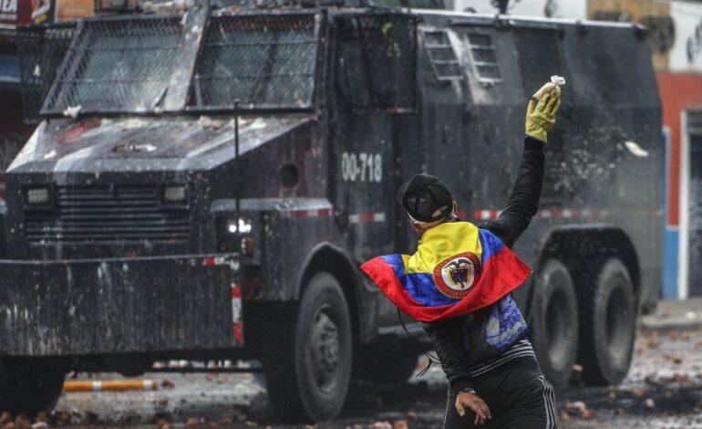 Κολομβία: Αναπτύσσεται στρατός στην Κάλι για την αντιμετώπιση των μαζικών διαδηλώσεων