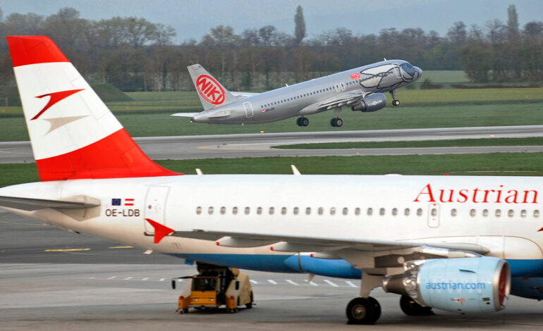 Μετά το «μπλόκο», η Ρωσία επέτρεψε πτήση της Austrian Airlines με προορισμό τη Μόσχα