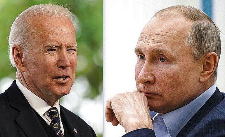 Με άγριες διαθέσεις θα συναντήσει τον Πούτιν ο Μπάιντεν στη Γενεύη