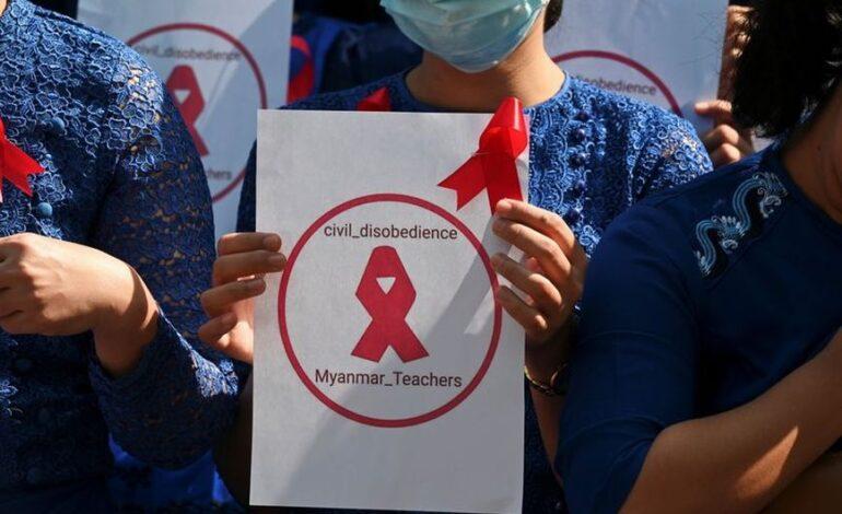 Μιανμάρ: Σε διαθεσιμότητα πάνω από 125.000 εκπαιδευτικοί που εναντιώθηκαν στο πραξικόπημα