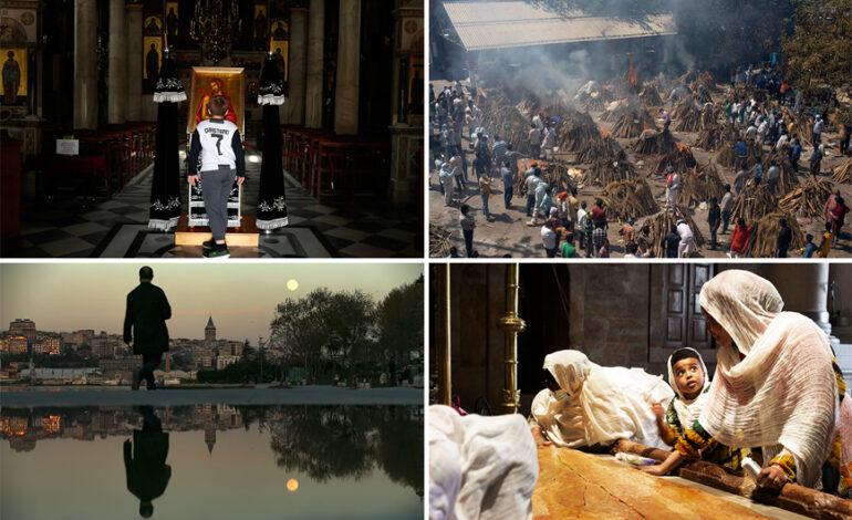 Οι άγιες μέρες με τα απαραίτητα μέτρα, οι βιβλικές εικόνες στην Ινδία και τα lockdown