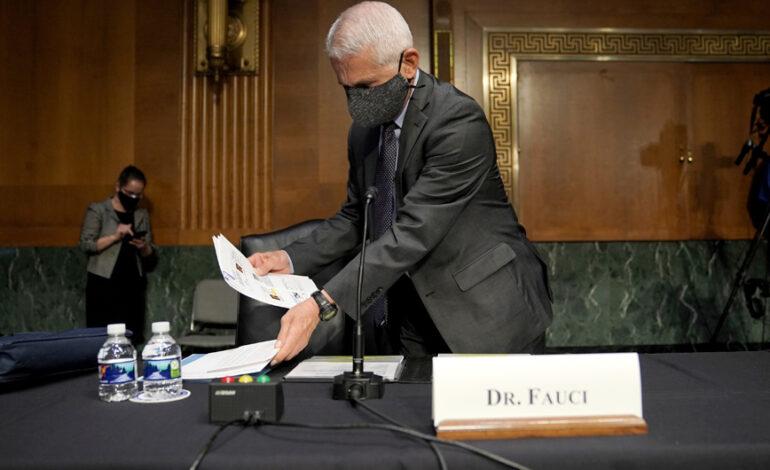 Ομολογία «βόμβα» Φάουτσι για αμερικανική χρηματοδότηση στο μοιραίο εργαστήριο της Ουχάν