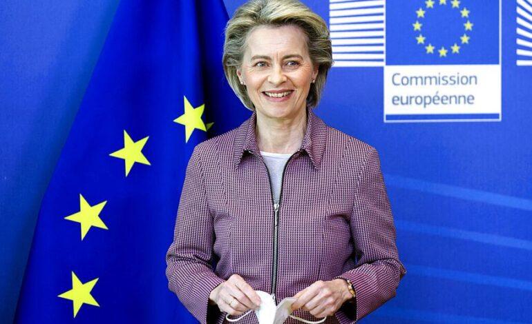 Ούρσουλα φον ντερ Λάιεν: Μέχρι τον Ιούλιο θα έχει εμβολιαστεί το 70% των Ευρωπαίων πολιτών