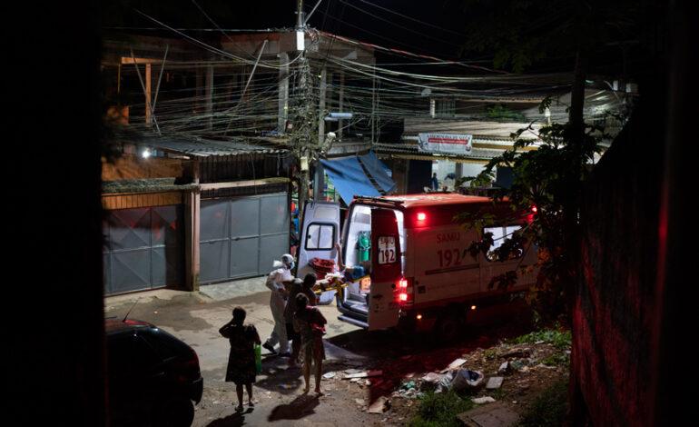 Σχεδόν 1.900 θάνατοι στη Βραζιλία λόγω κορονοϊού το τελευταίο 24ωρο