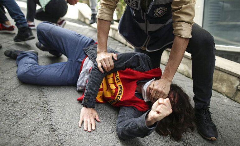 Τουρκία: Βίαιη καταστολή του εορτασμού της εργατικής Πρωτομαγιάς από την Αστυνομία – Δείτε φωτογραφίες