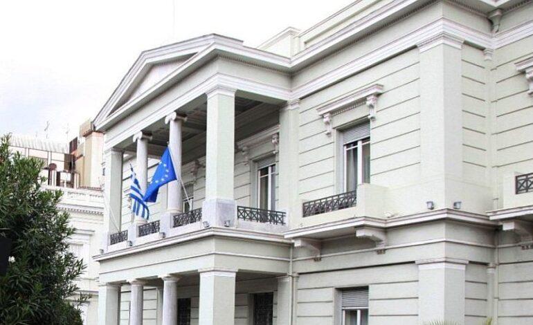 Υπουργείο Εξωτερικών: H Ελλάδα καταδικάζει την πράξη κρατικής αεροπειρατείας