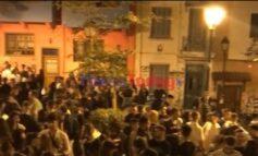 Εικόνα αποσύνθεσης στην πλατεία Καλλιθέας στη Θεσσαλονίκη