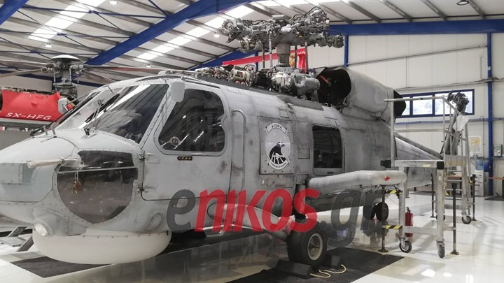 Το πρώτο ανανεωμένο «Γεράκι» του Πολεμικού Ναυτικού αποκαλύπτεται