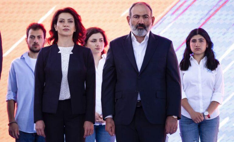 Αρμενία: Νίκη του Πασινιάν στις βουλευτικές εκλογές δίνουν τα τελικά αποτελέσματα