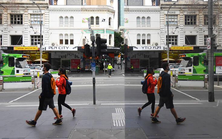 Η Μελβούρνη ακολουθεί το Σίδνεϊ και τίθεται σε καθεστώς lockdown