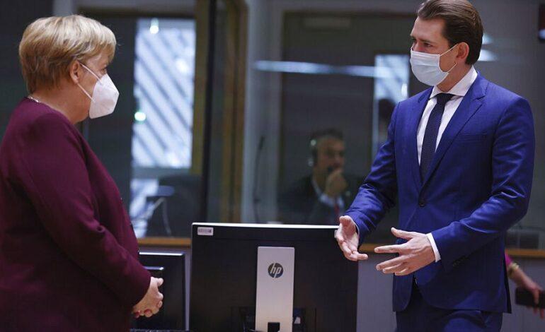 Επαφές Μέρκελ – Κουρτς ενόψει Συνόδου Κορυφής της ΕΕ