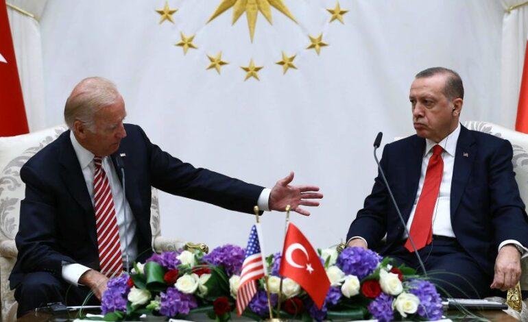 Η Ανατολική Μεσόγειος στην ατζέντα των συζητήσεων Μπάιντεν – Ερντογάν