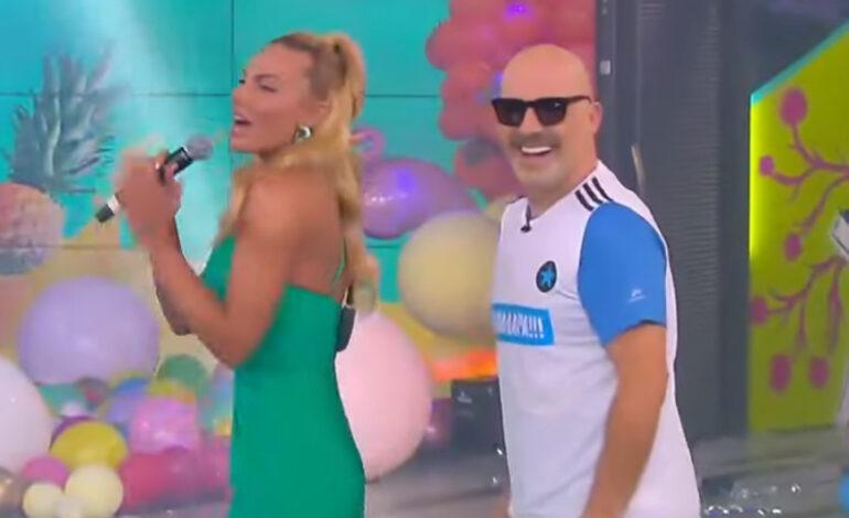 Η Ιωάννα Μαλέσκου «μάγεψε» τον Νίκο Μουτσινά με το τραγούδι και τον χορό της