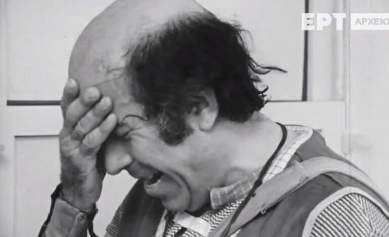 Θανάσης Βέγγος: Ήταν σφαγή στην κυριολεξία, σκέφτηκα να αλλάξω επάγγελμα