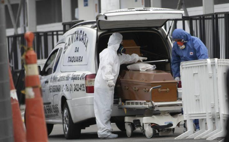 Θερίζει το τρίτο κύμα του κορονοϊού στη Βραζιλία: 2.001 θάνατοι και 79.277 κρούσματα σε 24 ώρες