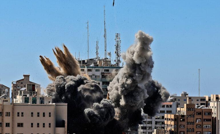 Ισραήλ: Η Χαμάς έκρυβε ηλεκτρονικό σύστημα παρεμβολών στο κτίριο που βομβαρδίσαμε στη Γάζα