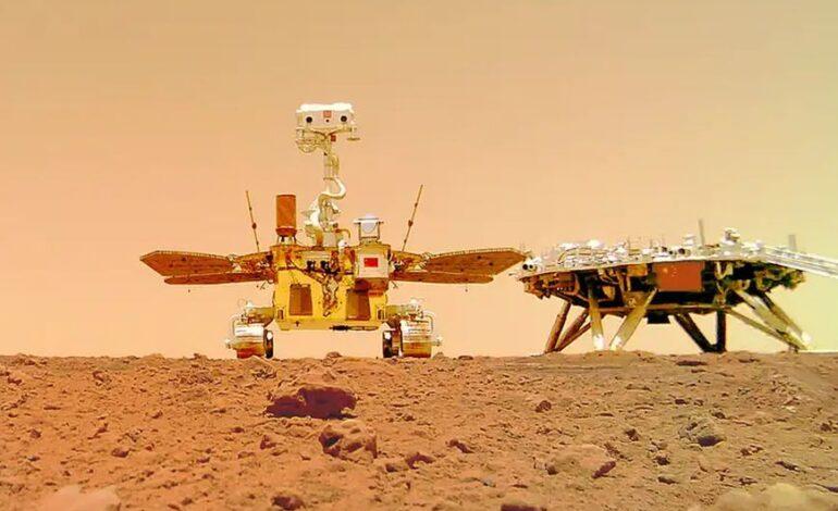 Κίνα: Η χώρα αφήνει το αποτύπωμά της στον Άρη – To ρομπότ Zhurong έβγαλε και «selfie» στον κόκκινο πλανήτη