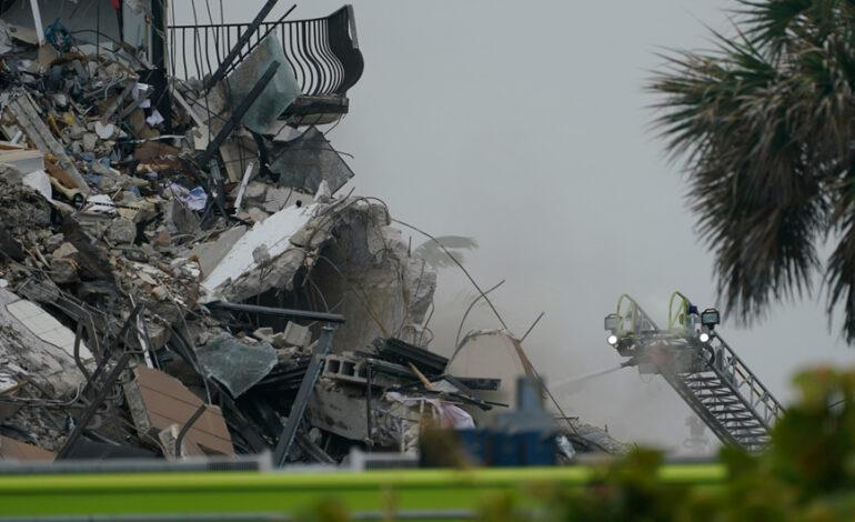 Κατάρρευση κτιρίου στο Μαϊάμι Μπιτς: Αυξήθηκαν στους 99 οι αγνοούμενοι