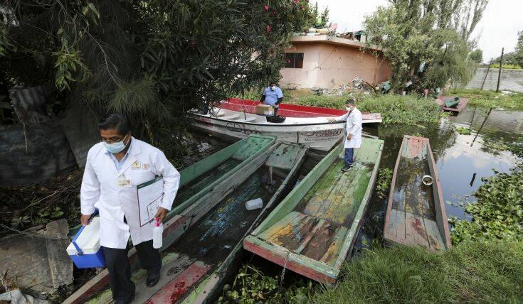Κορονοϊός: Ακόμη 243 θάνατοι καταγράφηκαν στο Μεξικό