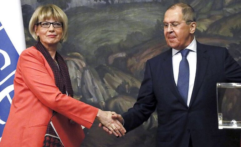 Λαβρόφ: Σύντομα θα έχουμε διαβουλεύσεις με την Τουρκία για το θέμα της Ουκρανίας