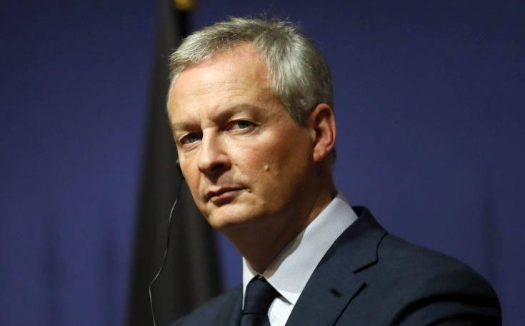 Λεμέρ: Θα αντλήσουμε αρκετά δισεκατομμύρια ευρώ από τον ελάχιστο παγκόσμιο φορολογικό συντελεστή