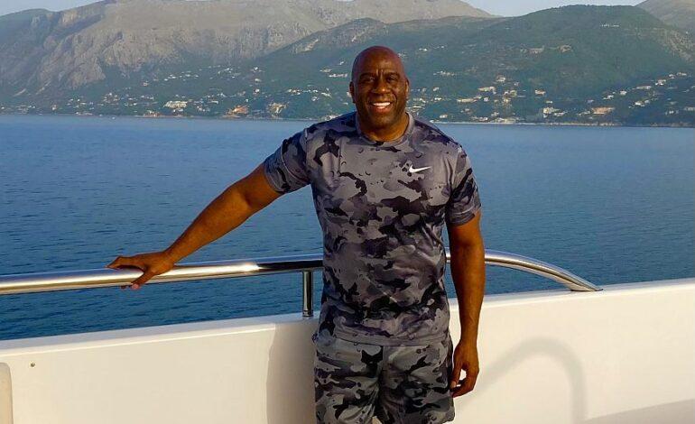 Μάτζικ Τζονσον: Πραγματικά απολαμβάνω τον χρόνο μου στην Ελλάδα