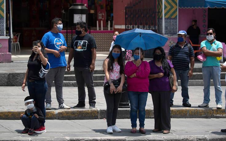 Μεξικό: Περίπου το 1/4 του πληθυσμού έχει μολυνθεί από τον κορονοϊό