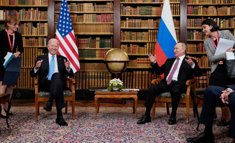 Ξεκίνησε η συνάντηση Μπάιντεν – Πούτιν στη Γενεύη