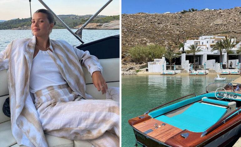 Οι πολυτελείς διακοπές της οικογένειας Richie στην Ελλάδα