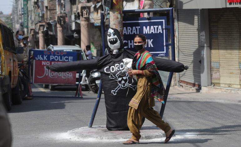 Πάνω από 3.200 νέοι θάνατοι από κορονοϊό στην Ινδία