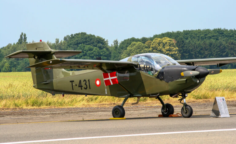 Παγκόσμια πρώτη για τον δανέζικο στρατό με δύο ηλεκτρικά αεροπλάνα