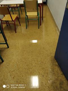 Πλημμύρισε σχολείο στην Αθήνα λόγω της νεροποντής