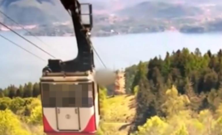Πτώση τελεφερίκ στην Ιταλία: Βίντεο ντοκουμέντο από το δυστύχημα με τους 14 νεκρούς