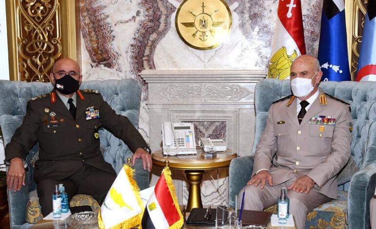 Στην Αίγυπτο ο αρχηγός της Εθνικής Φρουράς της Κύπρου