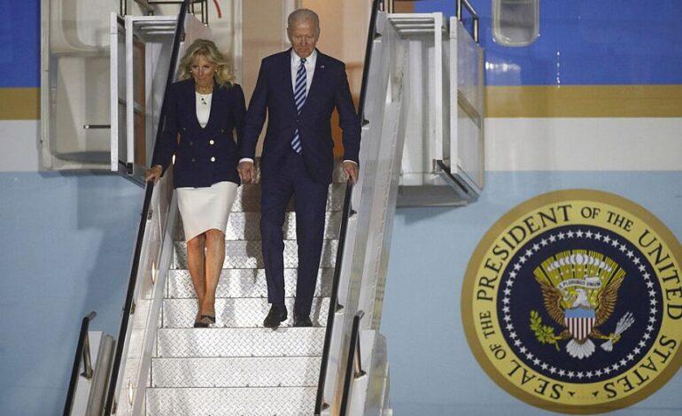 Στις Βρυξέλλες έφτασε ο Πρόεδρος των ΗΠΑ, Τζο Μπάιντεν