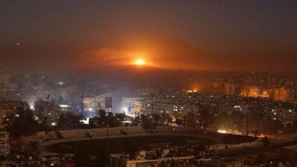 Συρία: Νύχτα κόλασης με ισραηλινές πυραυλικές επιθέσεις και ανθρώπινες απώλειες