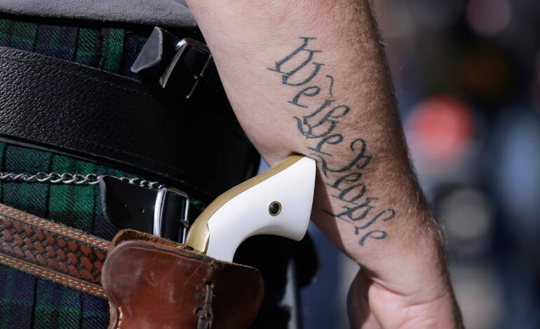 Τέξας: Εγκρίθηκε η δημόσια οπλοφορία χωρίς άδεια – Η απόφαση άνοιξε «πόλεμο»