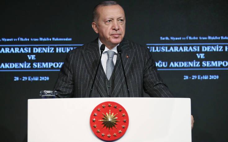 Τουρκία: Ο Ερντογάν έβαλε τον θεμέλιο λίθο της διώρυγας στην Κωνσταντινούπολη