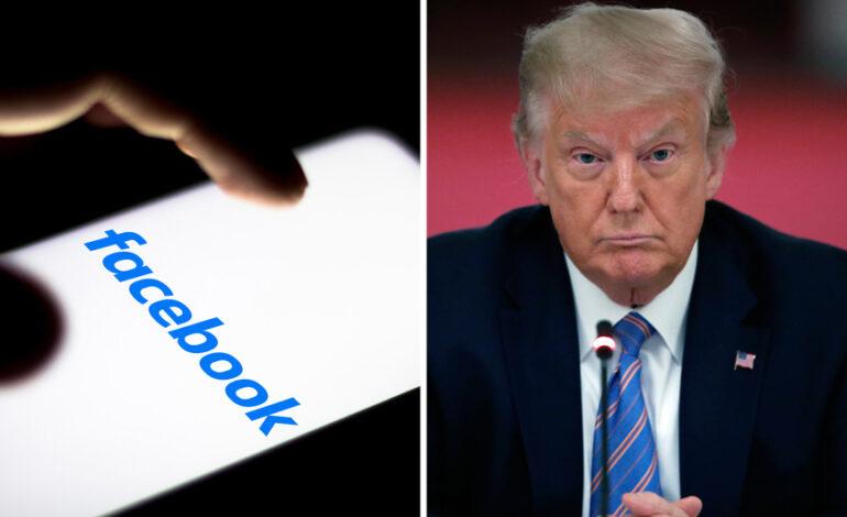 Το Facebook έριξε «κόκκινη» στον Τραμπ για 2 χρόνια