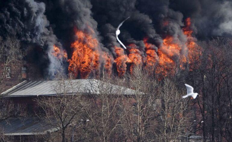 Τραγωδία στη Ρωσία: Τρεις νεκροί από φωτιά σε νοσοκομείο κορονοϊού