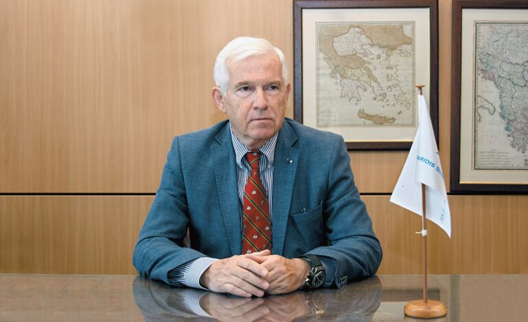 Παραιτήθηκε ο Πάνος Λασκαρίδης από την Ένωση Ελλήνων Εφοπλιστών